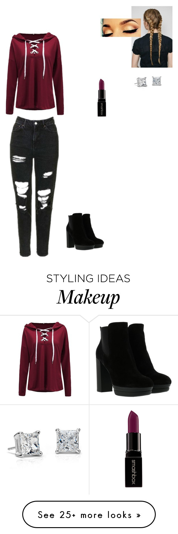 By lingeringsoulsvocals on polyvore featuring smashbox blue nile