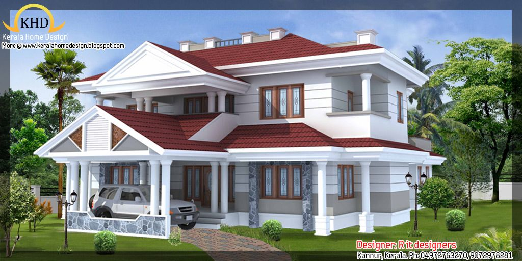 3 awesome house elevations kerala home design architecture awesome rh pinterest com