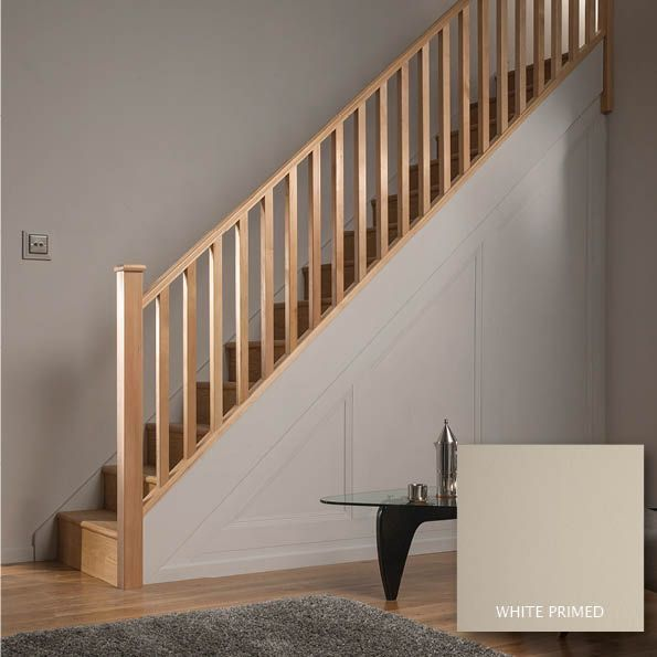 Best Square Pine 32Mm Complete Banister Project Kit 640 x 480