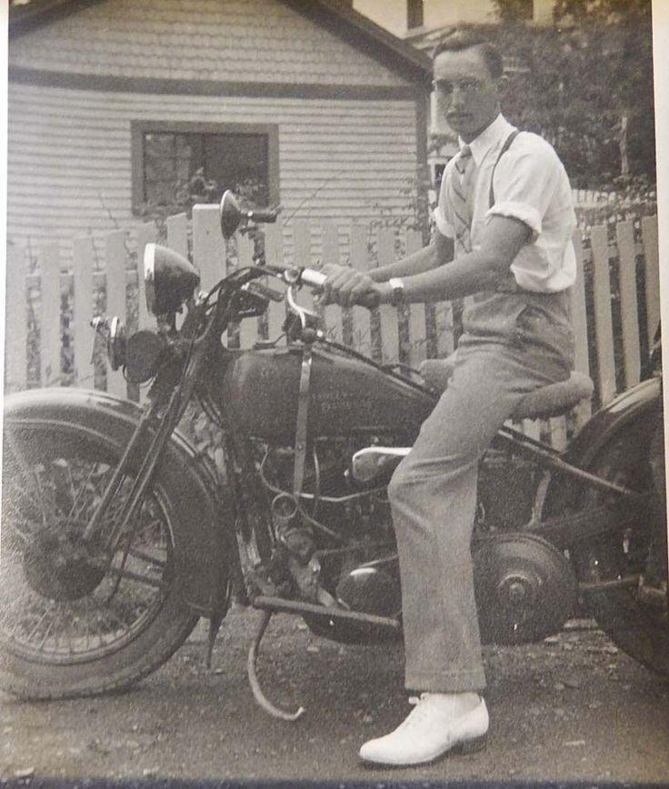 Vintage biker porn