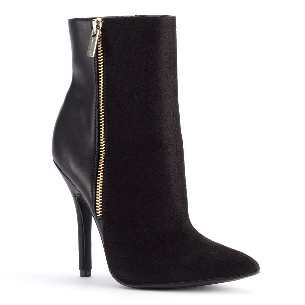The little black dress of boots. #JenniferLopez #boots #Kohls ...