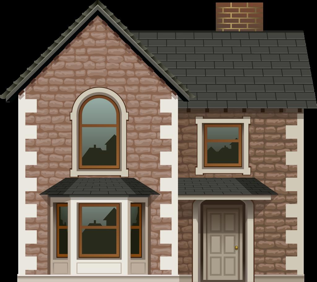 Кирпичный домик картинка