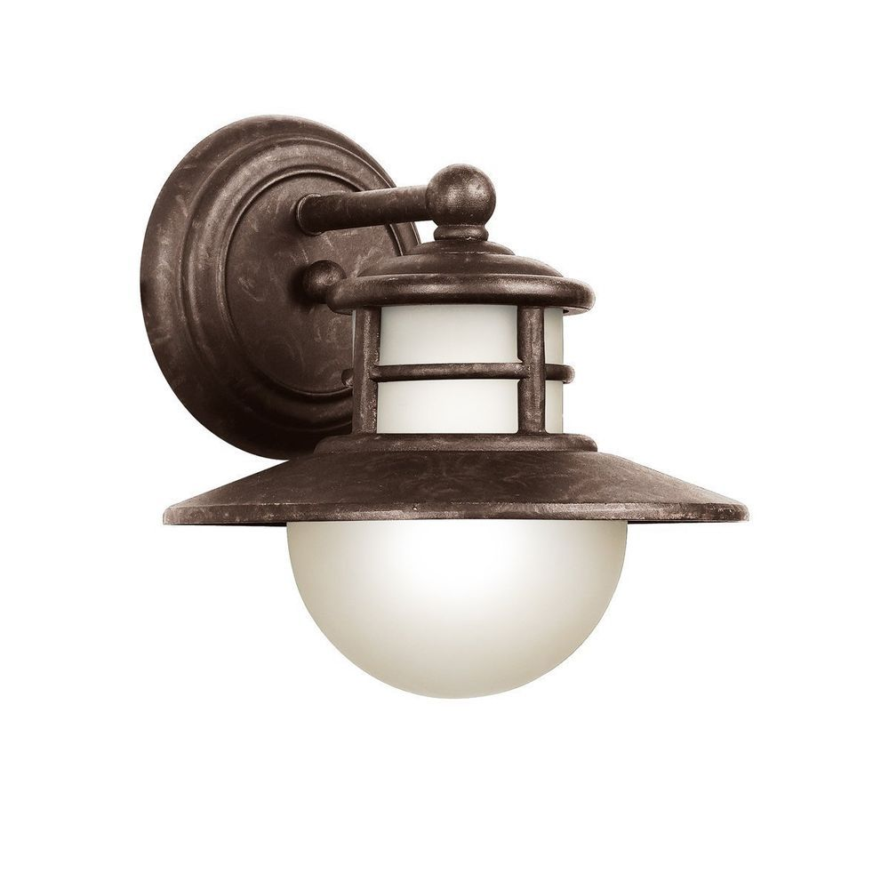Buy a 150 sears gift card for 15 off save 2250 email kichler 11106agz country rustic 1 light fluorescent outdoor sconce nib aloadofball Choice Image