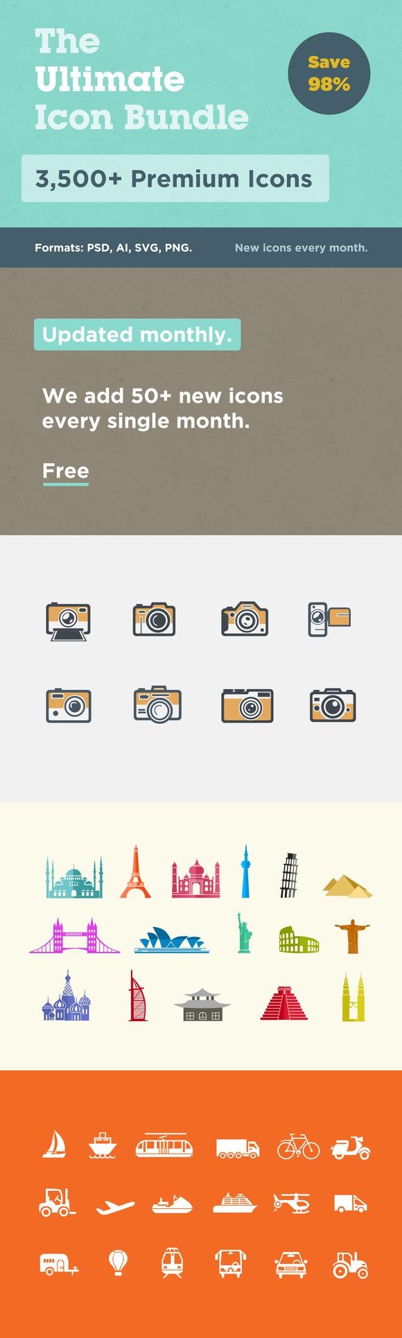 The Ultimate Icon Bundle (Save 98). Christmas Icons. 13