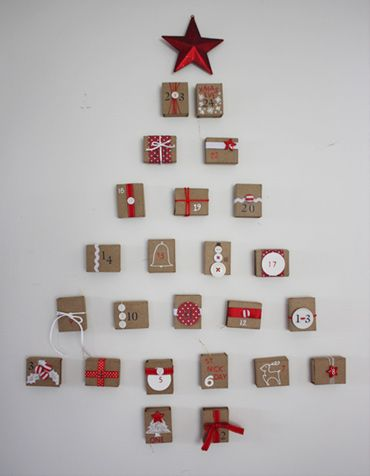 Make your own advent calendar Products I Love Pinterest