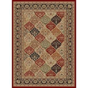 Sensation Red 8 Ft 9 In X 12 Ft 3 In Traditional Area Rug 4770