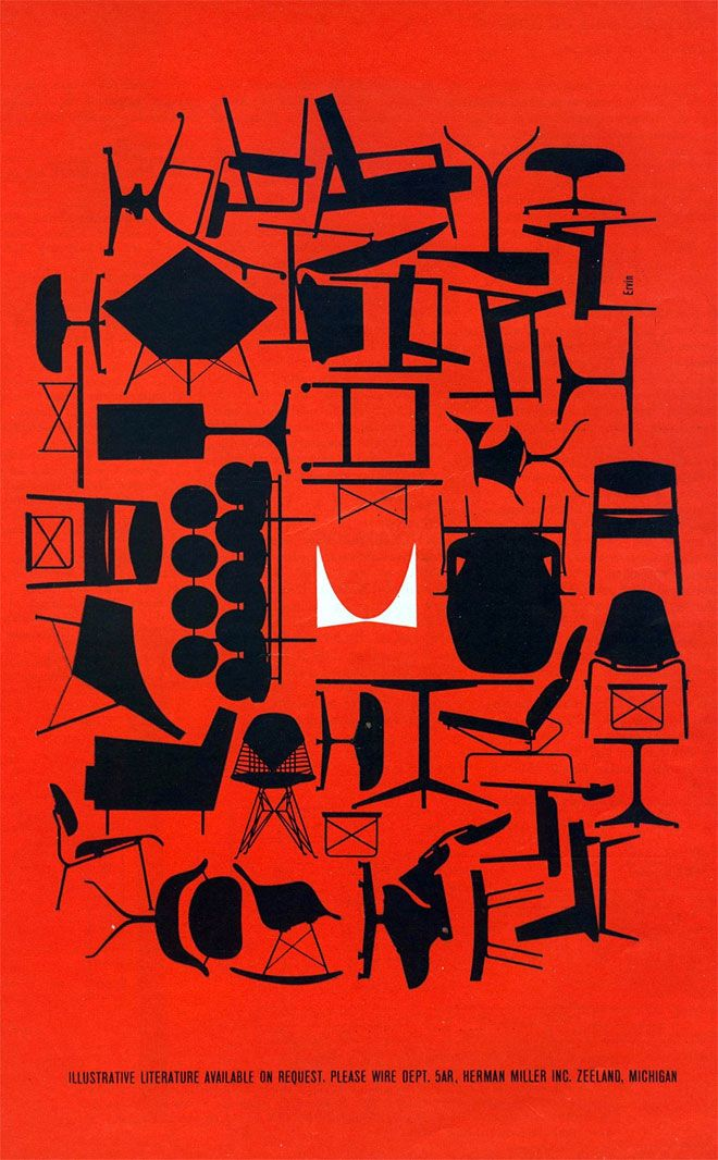 herman miller graphic design by the office of George Nelson