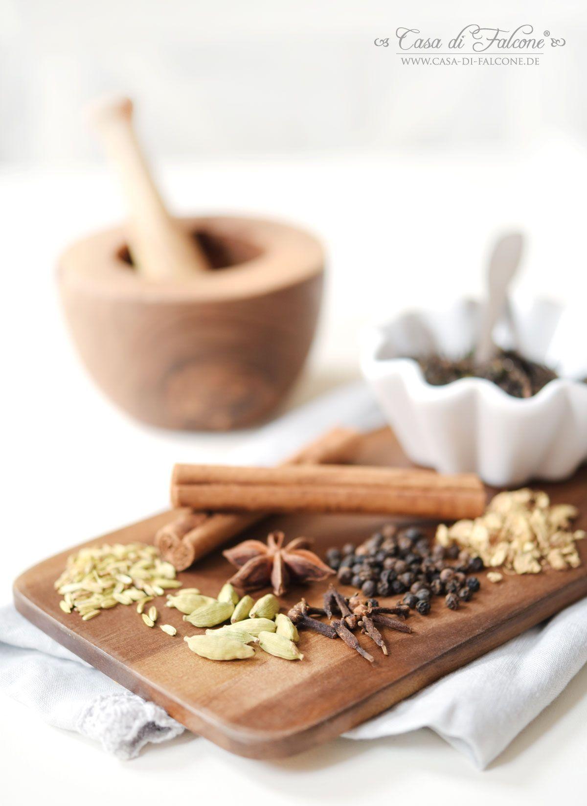 Chai Latte Teemischung {Rezept} & Verpackungsidee | Pinterest | Chai ...