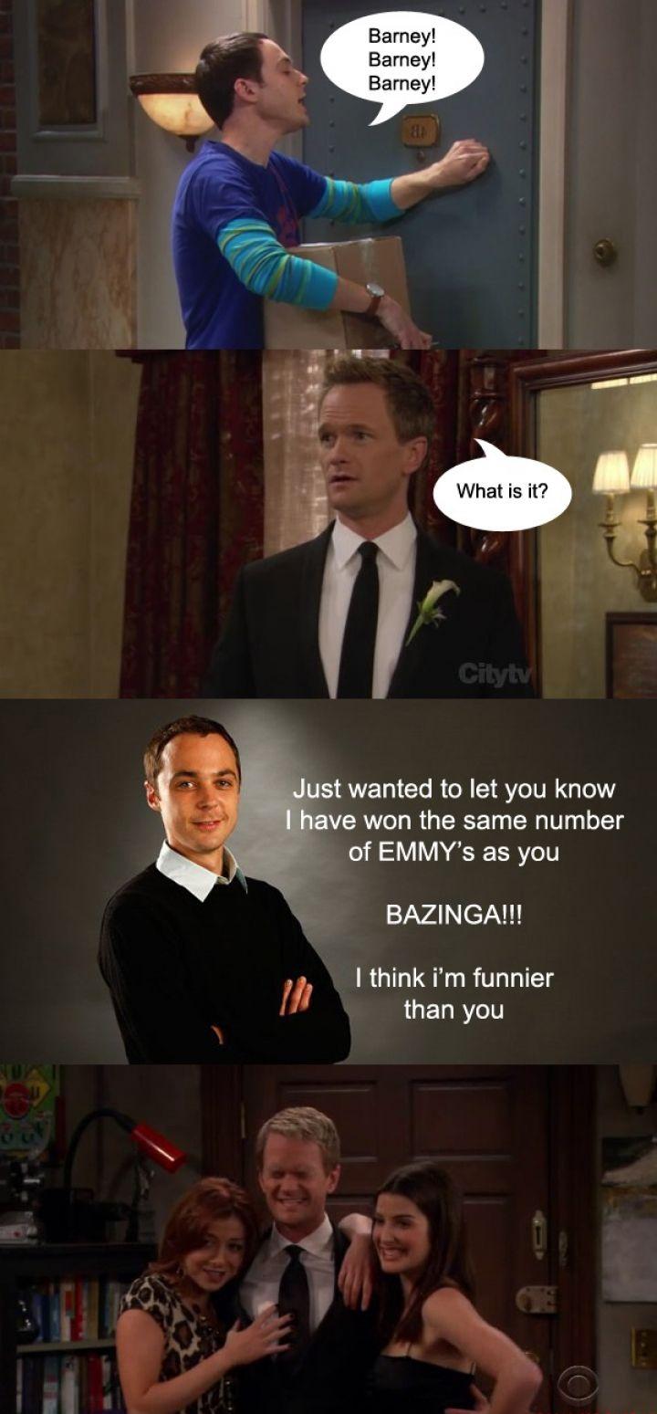 Barney Stinson Vs Sheldon Cooper  Barney Stinson Resume