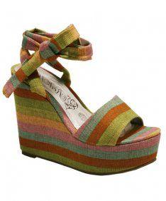 Zapatos Feli ShoesWedges Y VerdeCalzado Chica uTF1lJc5K3