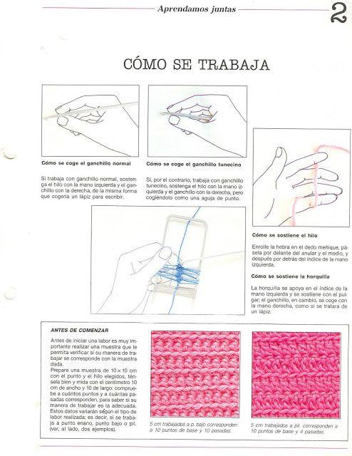 Magnífico Libros De Patrones De Ganchillo Tunecino Componente ...