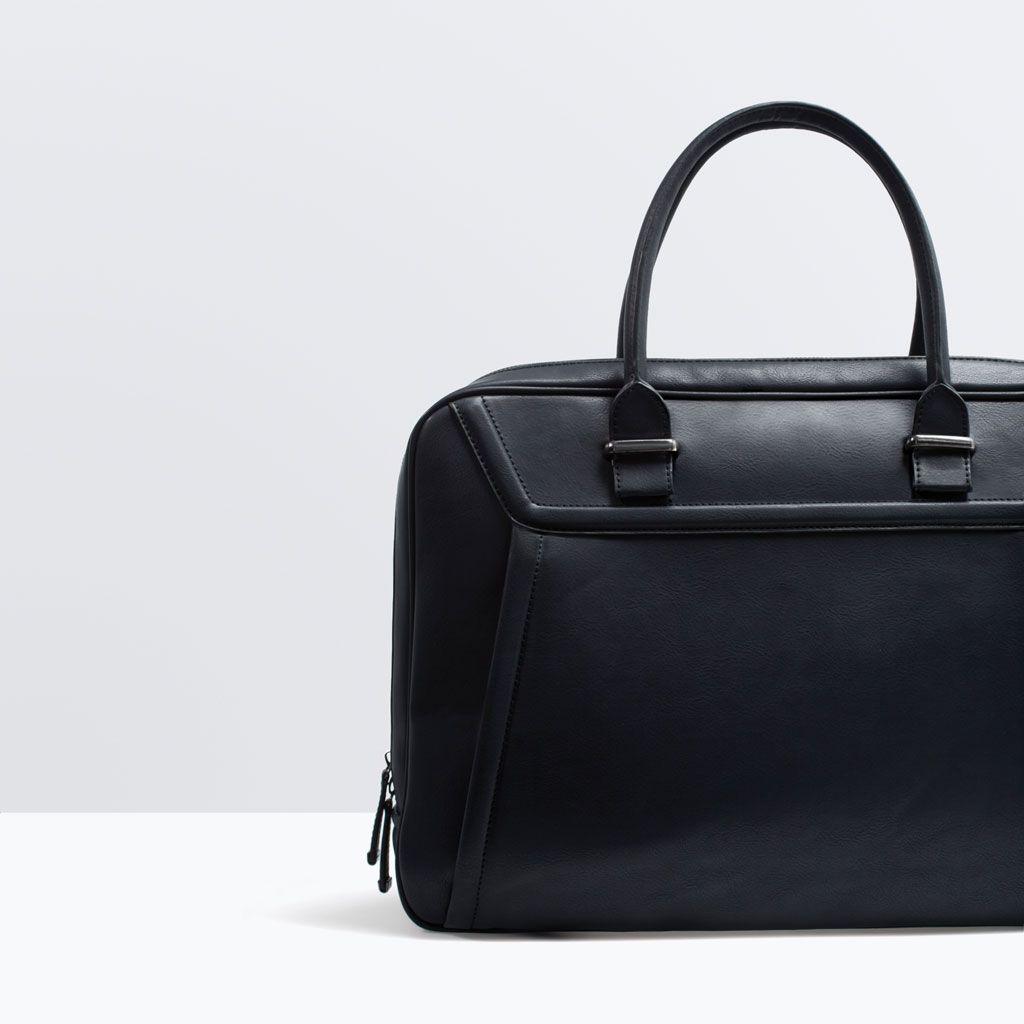 0becb49671 ZARA - MAN - SPORTY BRIEFCASE | Man Bags | Bags, Briefcase for men ...