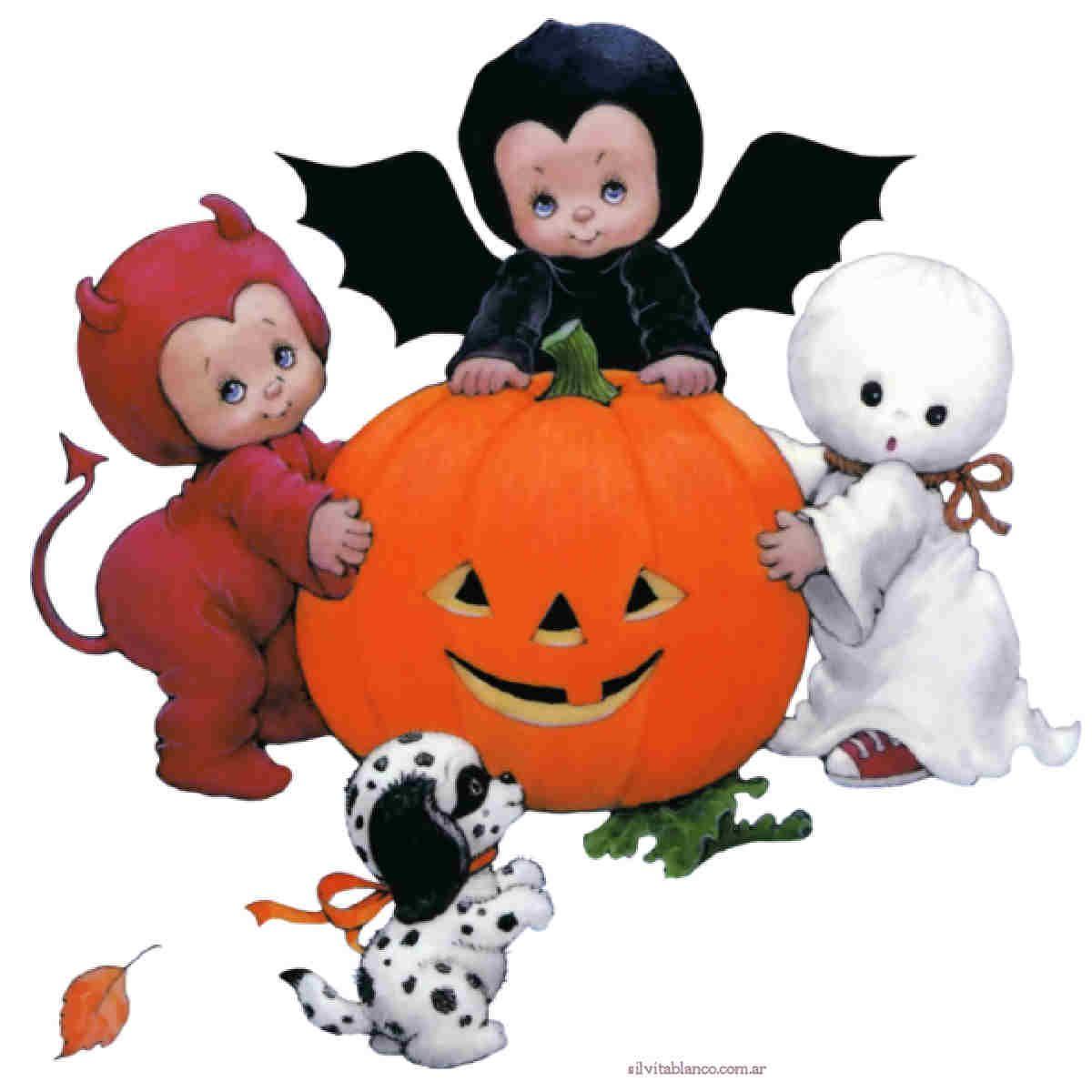 Happy halloween laminas para bajar other holiday - Precious moments halloween wallpaper ...