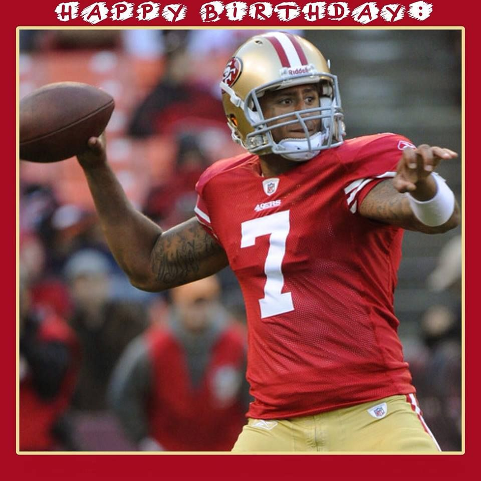 San Diego Chargers Happy Birthday Pictures: 49er Happy Birthday Kap