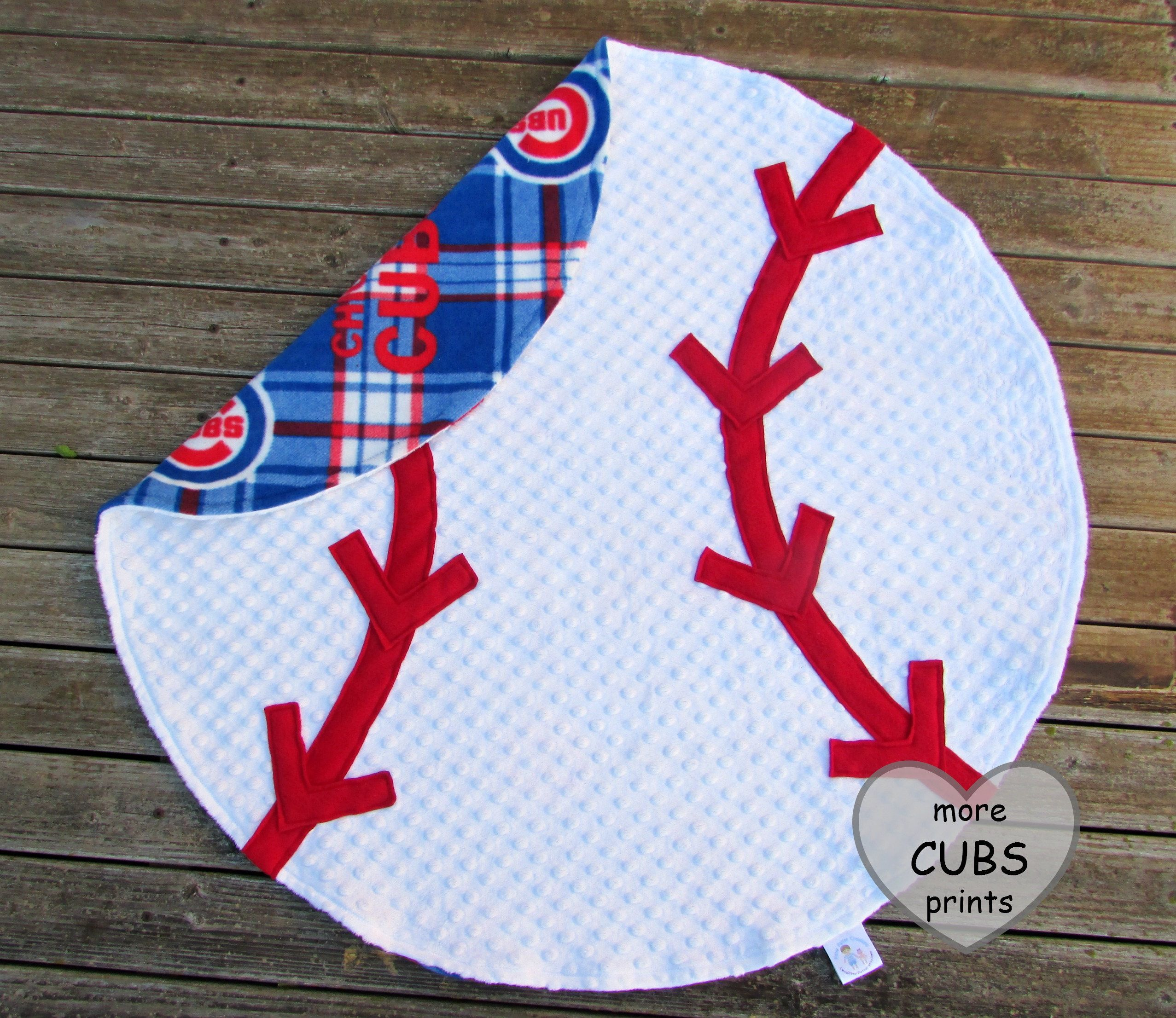 Baseball blanket chicago cubs sports nursery decor photo prop baseball blanket chicago cubs sports nursery decor photo prop personalized blanket baby shower gift minky adult throw cubs decor negle Choice Image