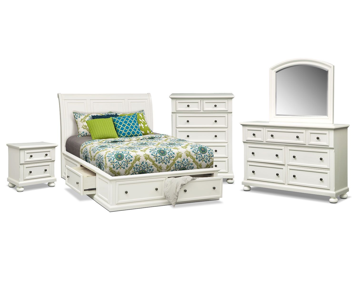 Don't let all your stuff take over! The Hanover White
