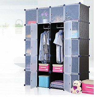 Unicoo - Multi Use DIY Plastic 20 Cube Organizer, Bookcase ...