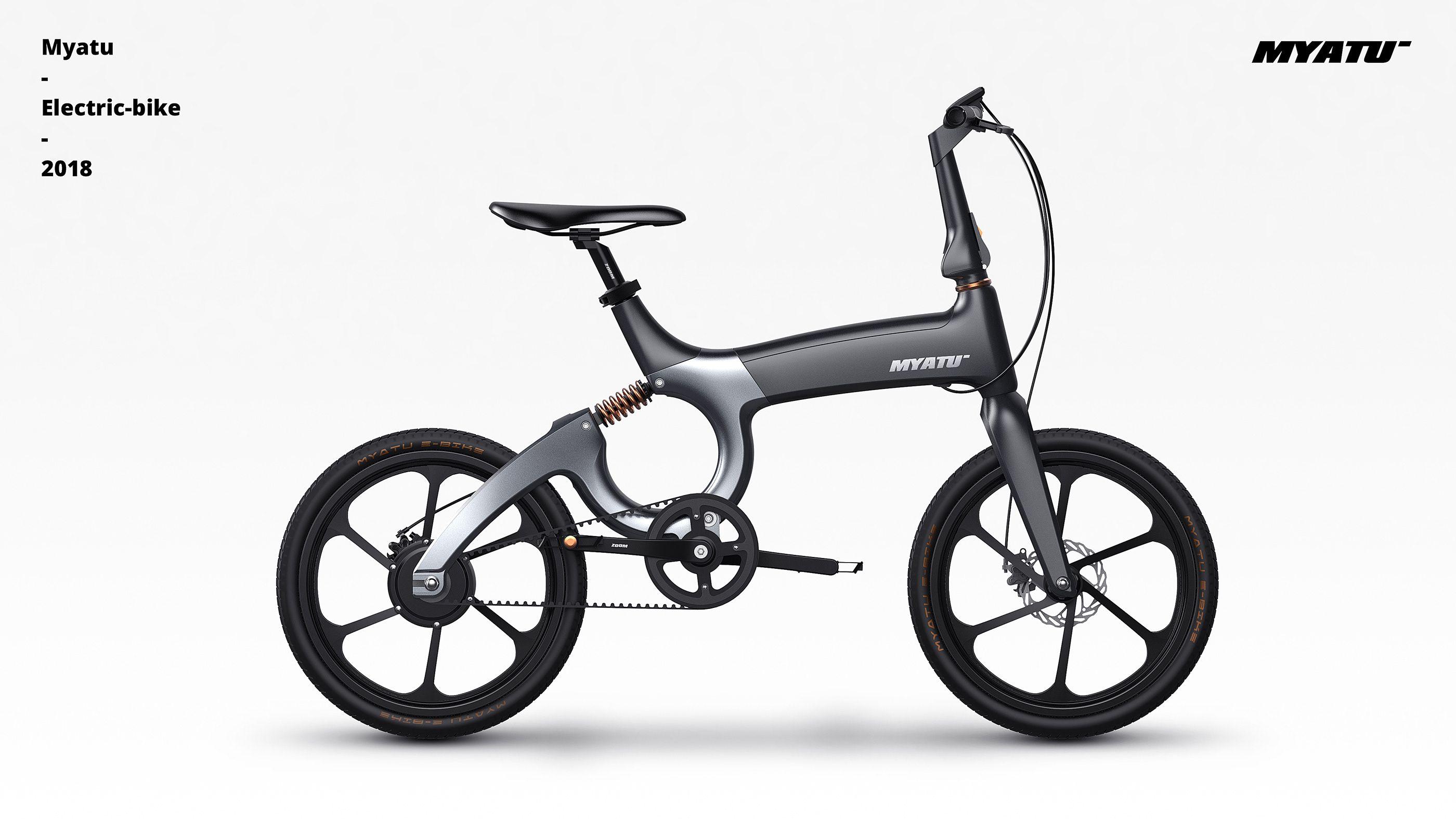 Myatu Eb On Behance Bicycle Electric Bike Bike