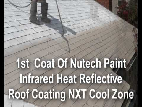Best Spray Painting Nutech Paint On Your Roof To Extend The 640 x 480