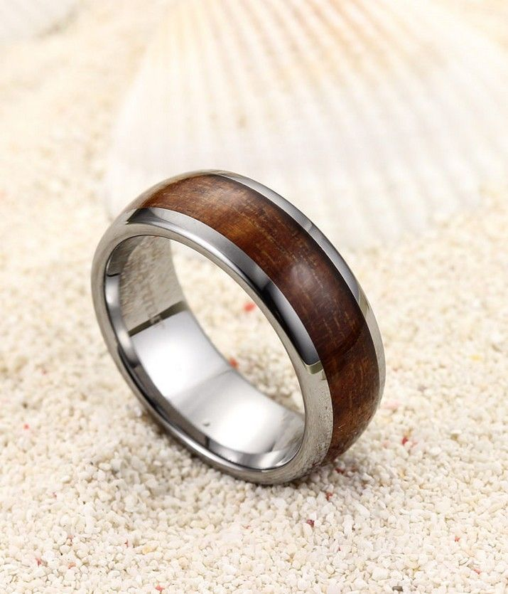 Mens Wooden Wedding Ring wooden wedding and engagement rings