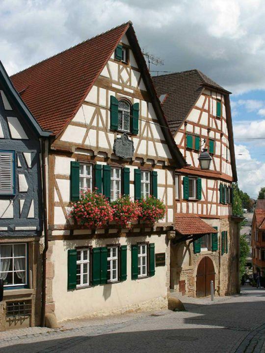 German House Designs: Marbach, Neckar - Friedrich Schiller