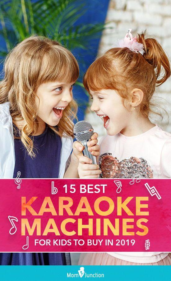 15 Best Karaoke Machines For Kids To Buy In 2019 #bestkaraokemachine