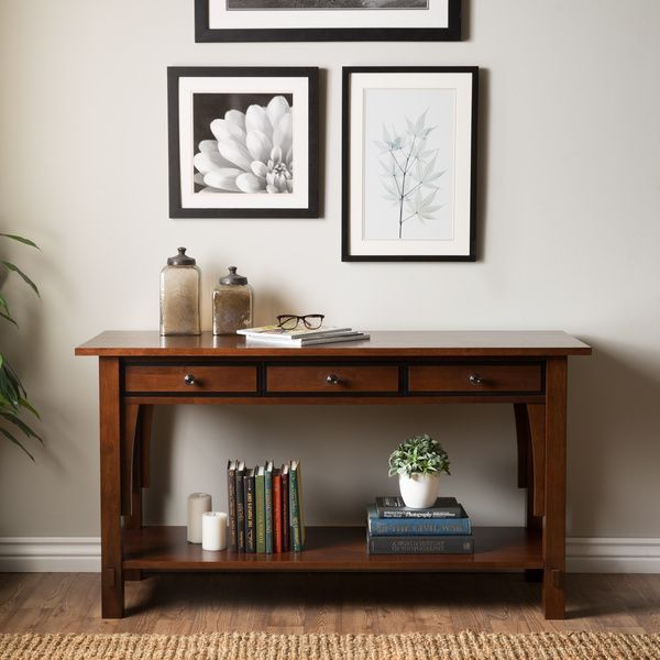 Talisman 3 Drawer Console Table