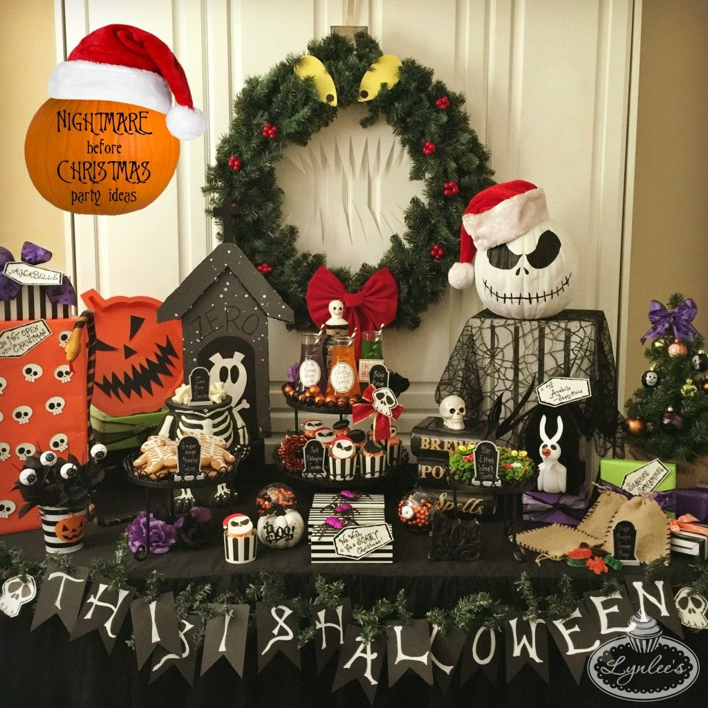 Christmas Holiday Party: Nightmare Before Christmas Party Ideas