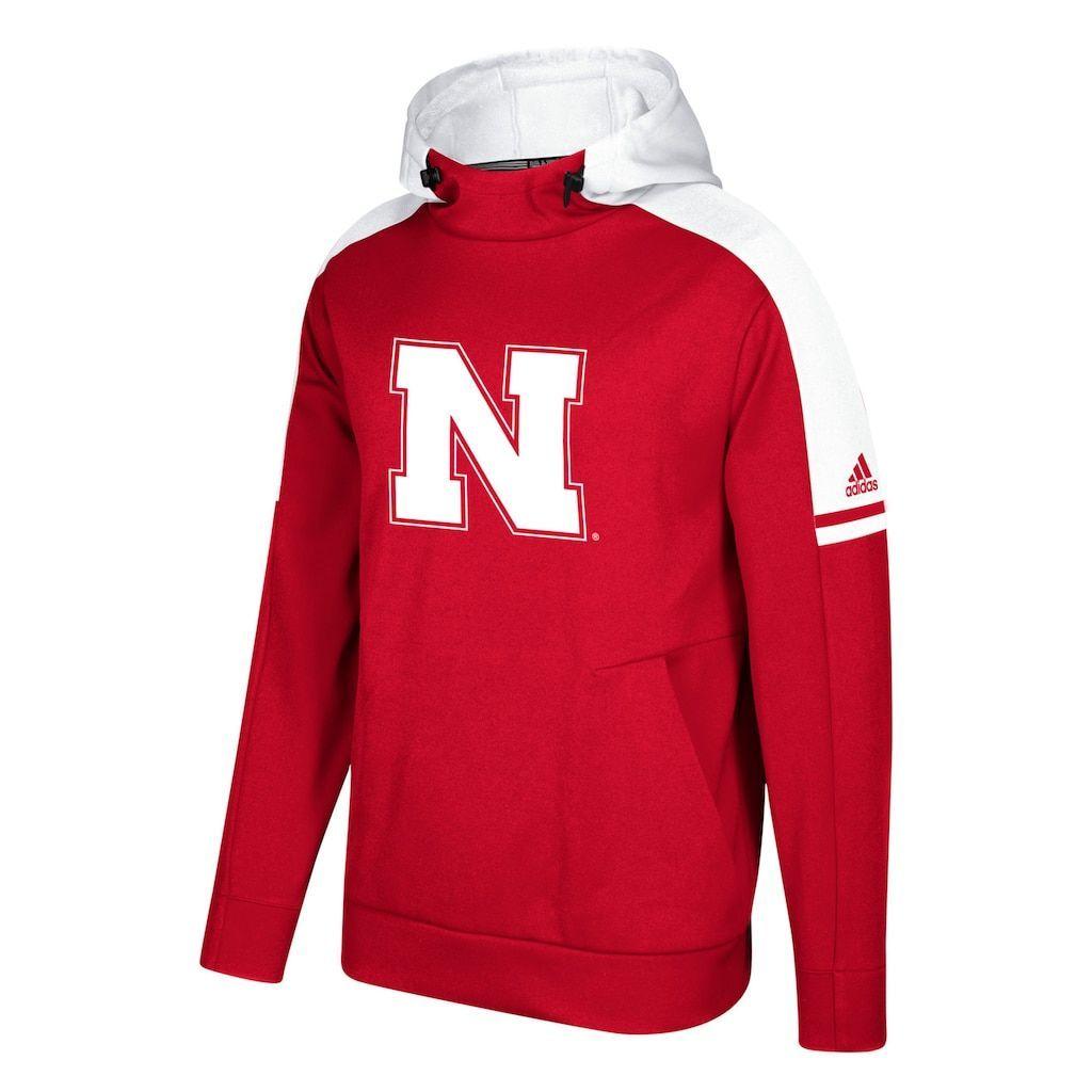 Men S Adidas Nebraska Cornhuskers Sideline Player Hoodie Size Medium Red Sudaderas Conjuntos [ 1024 x 1024 Pixel ]