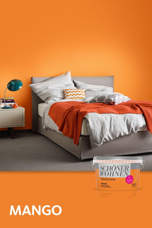 Trendfarbe Mango Schoner Wohnen Farbe Wohnen Schoner Wohnen