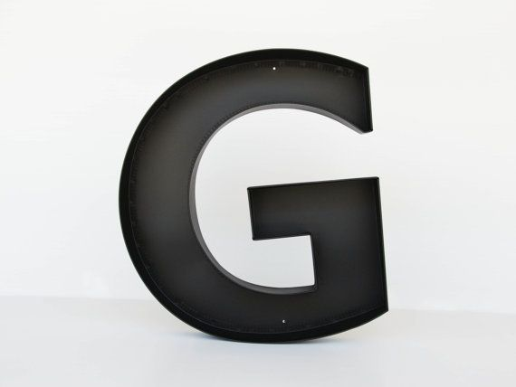 Metal Letters G Sign Letter  Wall Decor Letters Large Letter
