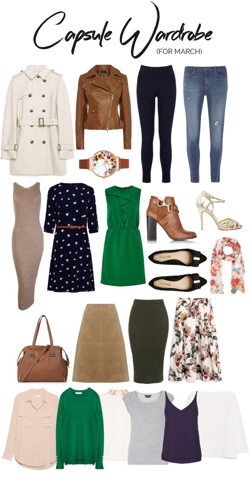 Capsule Wardrobe: March