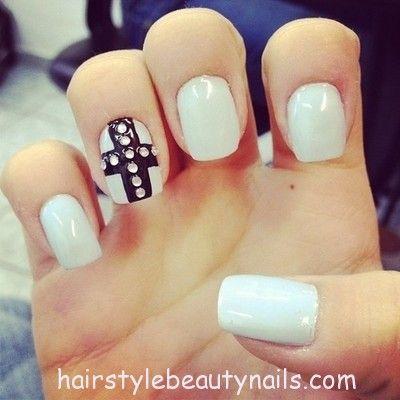 pinerika garland on nails  elegant nails nails
