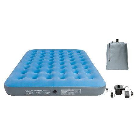 embark queen air mattress Air Mattress Single High Queen (Blue)   Embark, Azure Blue | Air  embark queen air mattress