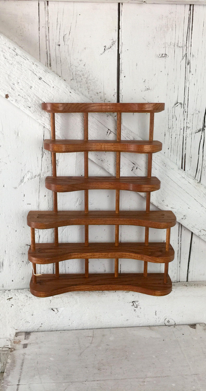 Wood Wall Shelf Shelf Curio Shelf to display knic knacks
