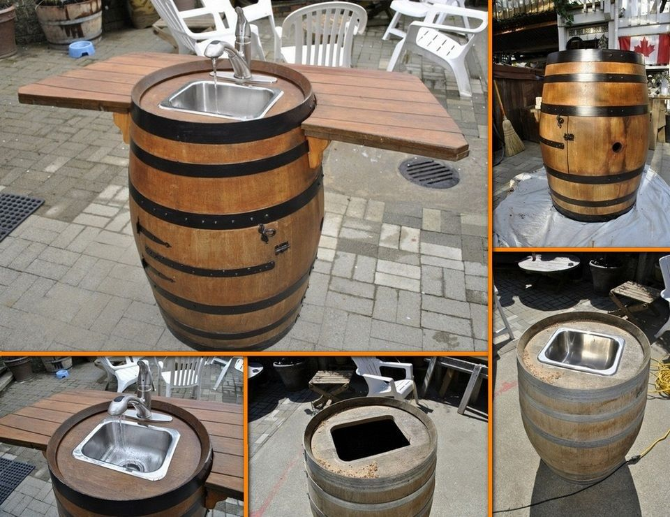 36 creative diy ideas to upcycle old wine barrels wine