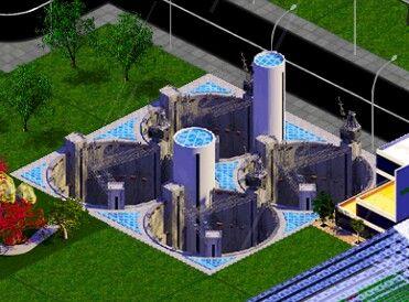 Designer City Diamond Mine 2x2 Industrial Building Cost Starts