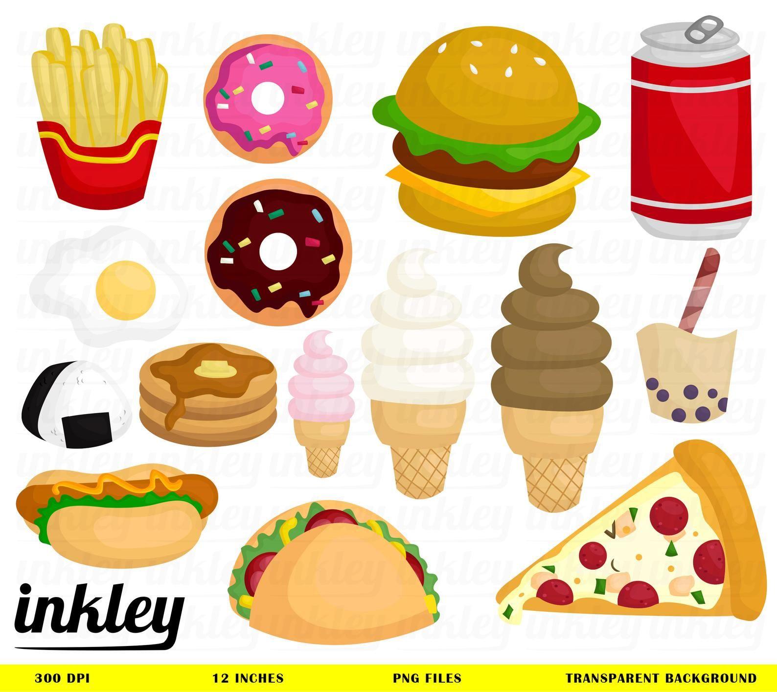 Fast Food Clip Art Set – Daily Art Hub – Free Clip Art Everyday