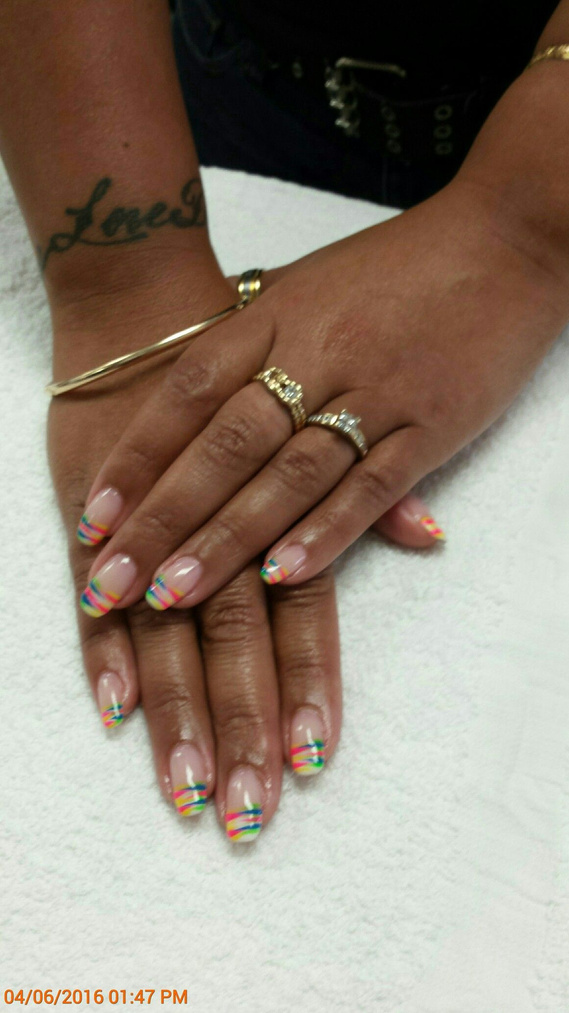 Star Nails on Parliament by Hong