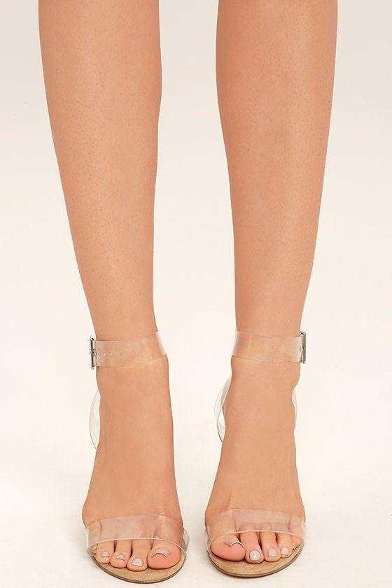 609c9164e0a Steve Madden Clearer Heels - Clear Heels - Lucite Heels -  109.00