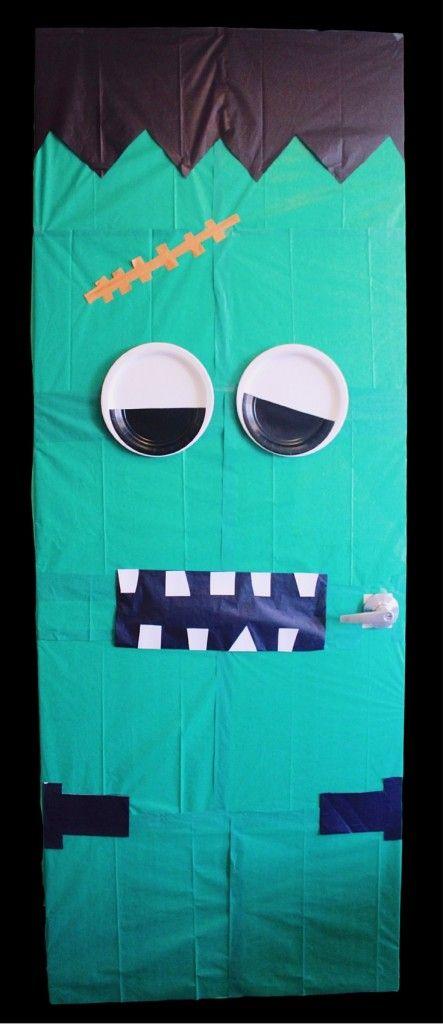 Easy DIY Halloween Decor Monster Doors & Easy DIY Halloween Decor: Monster Doors | Easy diy Halloween and ...