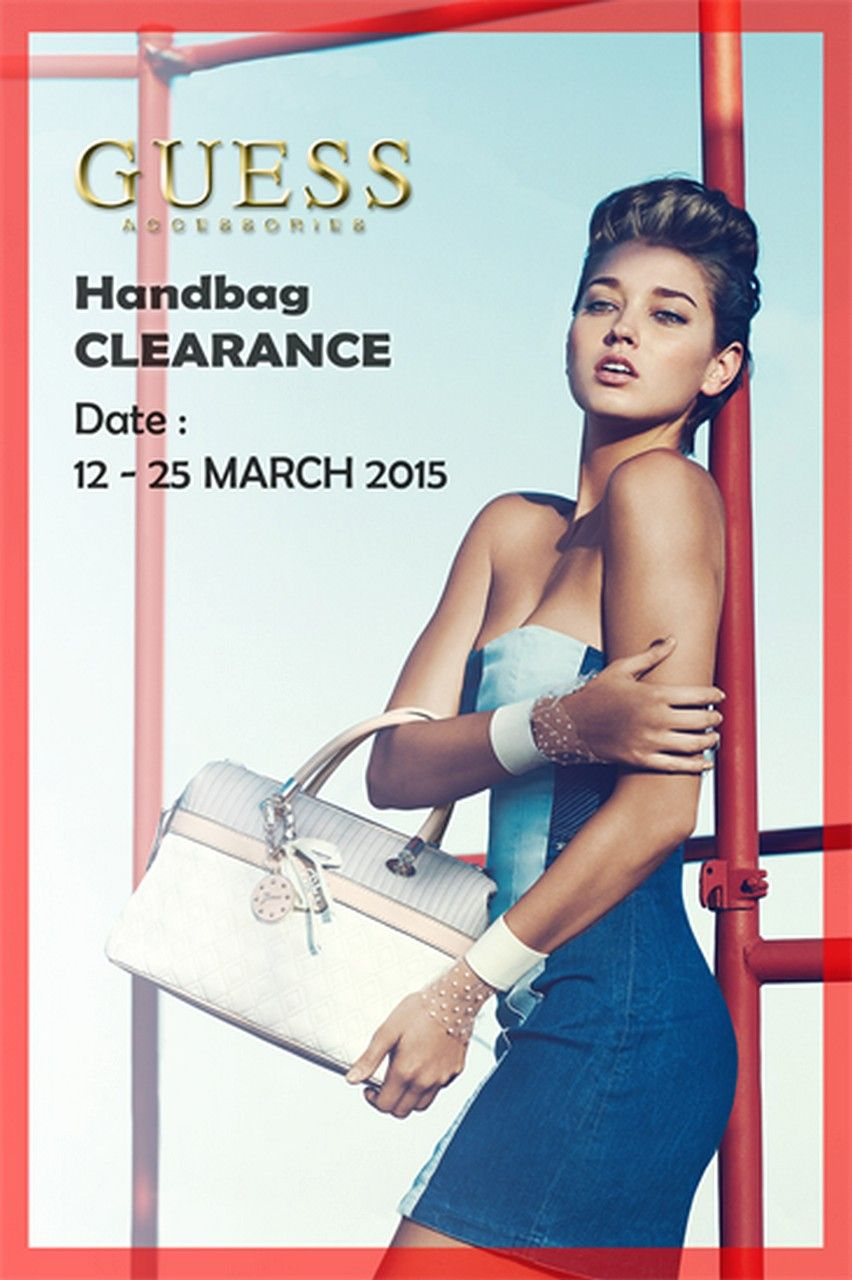 pala Immagine cappello  12-25 Mar 2015: Guess Accessories Clearance Sale for Handbags Discounts |  EverydayOnSales.com | Clearance sale, Guess, Guess handbags
