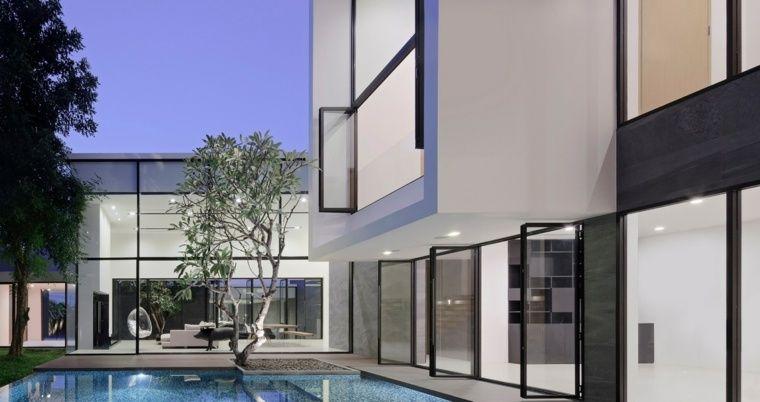 Maison Avec Piscine Ultra-contemporaine En Thaïlande Architecture