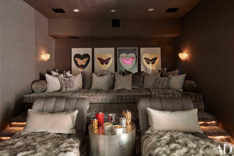 villa di khloé kardashian su architectural digest | case vip ... - Arredamento Casa Kardashian