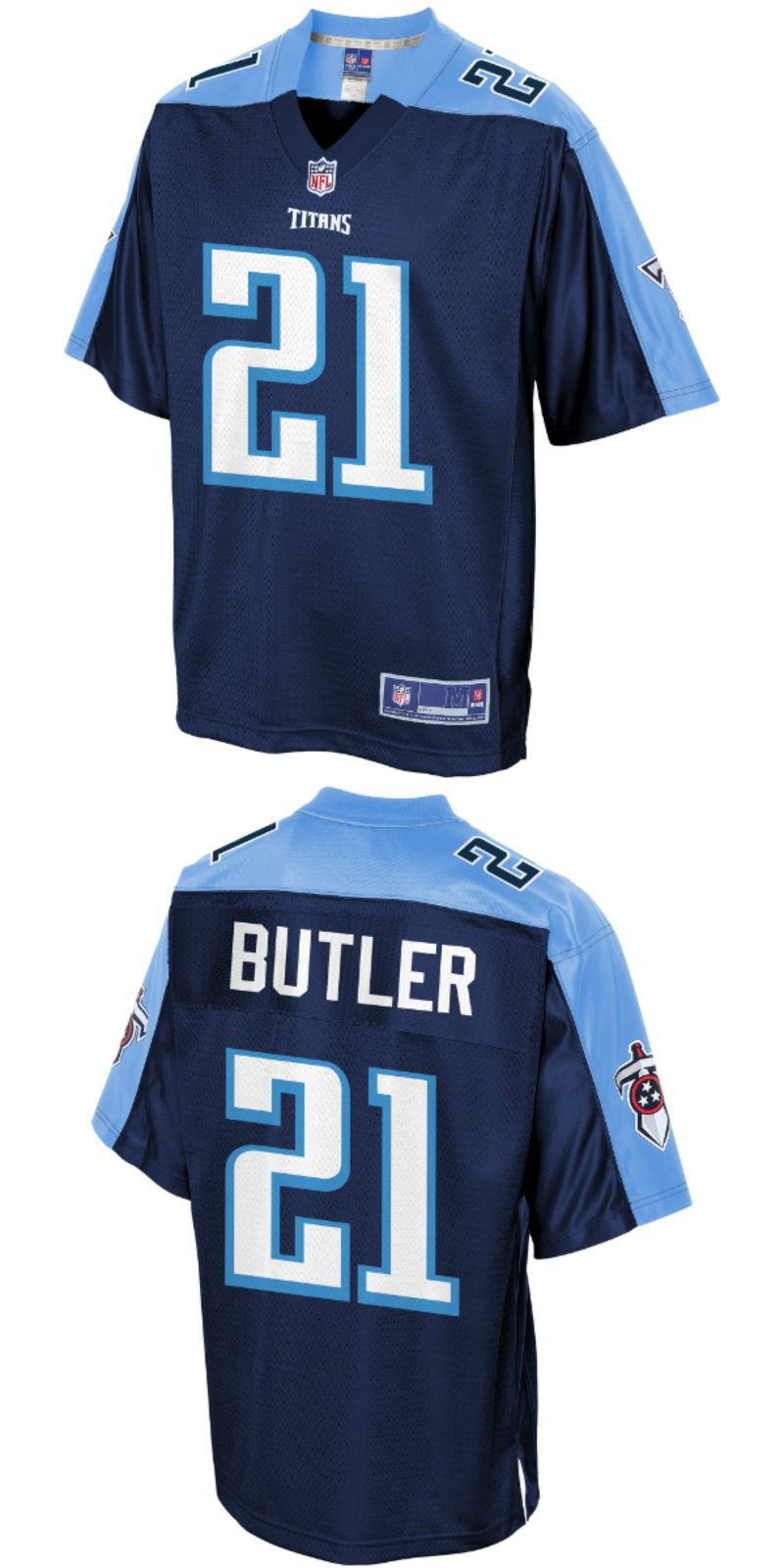 Malcolm Butler Tennessee Titans Nfl Pro Line Player Jersey Navy