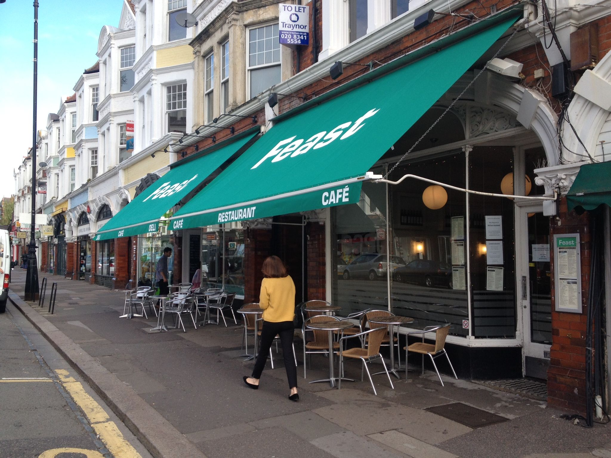 Traditional Victorian Shop Blind By Deans Blinds Awnings Commercial Property Shop Front Blinds