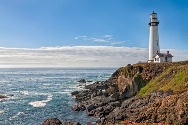 Jewels of the California Coastline: 16 Stunning Lighthouse Views: Pigeon Point Lighthouse