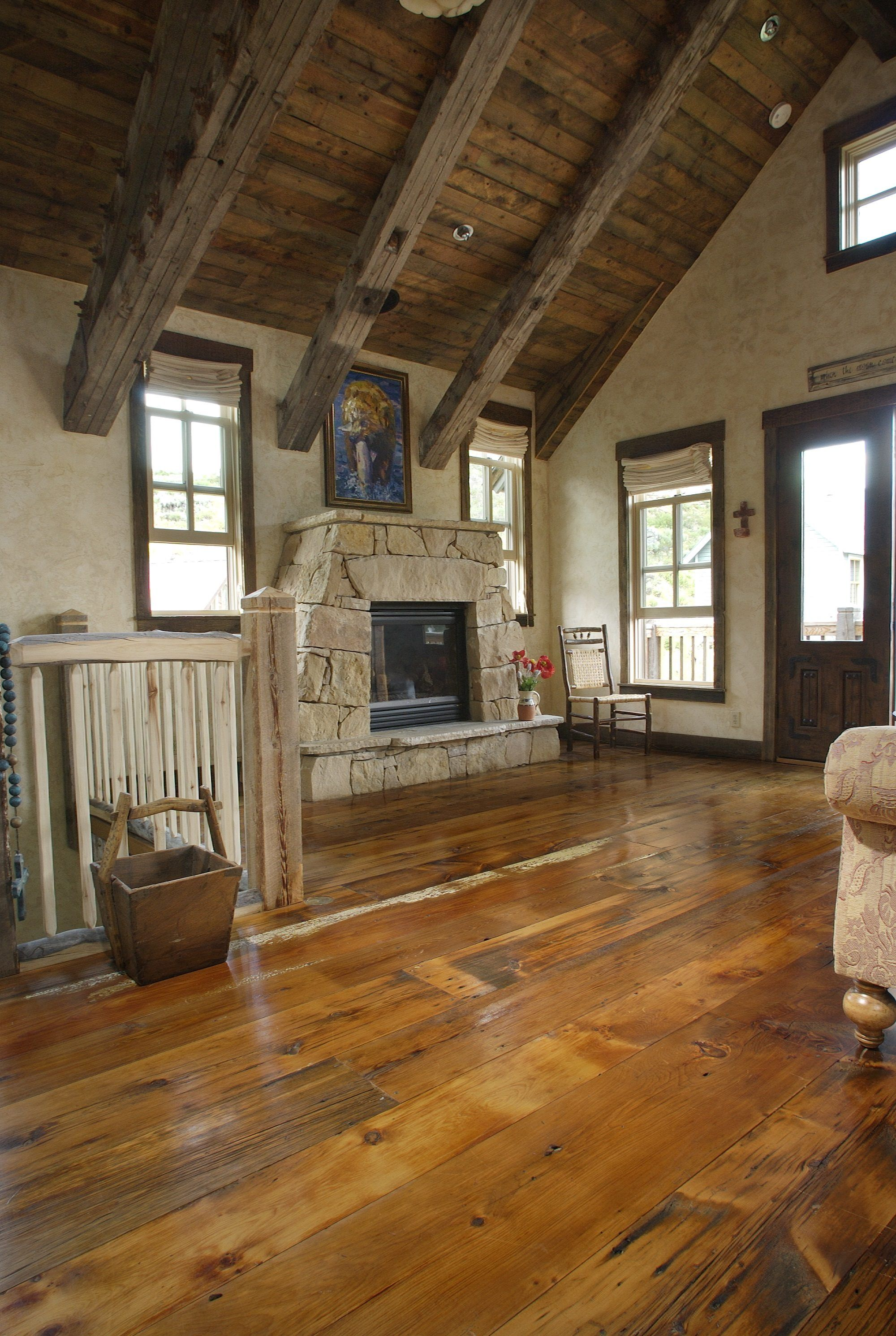 Reclaimed Milled Barnwood Colorado Kitchen (With images ...