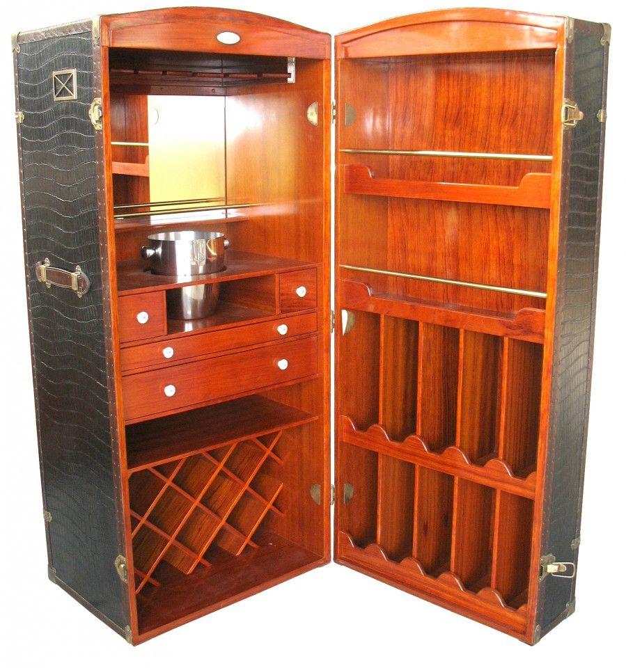SURCOUF STEAMER TRUNK BAR   Bar Design   Pinterest   Steamer trunk ...