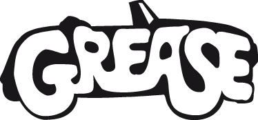 Grease Logo Coloring Page Cheer Pinterest